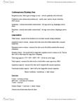 KINE 1020 Study Guide - Final Guide: Coronary Artery Bypass Surgery, Pulmonary Hypertension, Vo2 Max