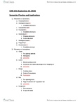 LING 101 (09/13/13) Semantic Review & Applications