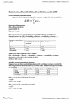 BSNS108 Lecture Notes - Capital Asset Pricing Model, Standard Deviation