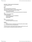 ENGLISH 1A03 Lecture Notes - Alice Munro