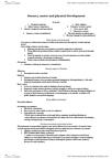PSY2DEV Lecture Notes - Lecture 2: Proprioception, Menarche, Depth Perception