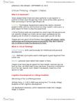 BUSI 1010U Chapter Notes - Chapter 1: Ethnocentrism, Doublethink, Egocentrism