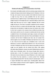 MGMC12H3 Study Guide - Social Stigma, Abdominal Pain, Market Segmentation