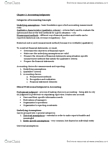 ACTG 3110 Study Guide - Midterm Guide: Executory Contract, Cash Flow, Accrual