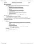 PSYCH253 Lecture Notes - Subjectivism, Underweight, Personality Psychology
