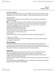 BIOL 1F25 Lecture Notes - Tide Pool, Hypoesthesia, Leiurus