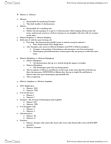 BIOL 1500 Study Guide - Synapsis, Prophase, Metaphase