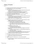 MKT 400 Chapter Notes - Chapter 2: Gestalt Psychology, Absolute Threshold, Principles Of Grouping