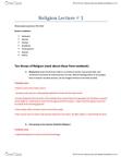RLGA01H3 Lecture Notes - Prehistoric Religion, Axis Mundi, Taoism