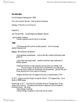 SOSC 1430 Lecture Notes - Neoliberalism, Social Philosophy, Free Market