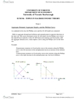 MGEC06H3 Lecture Notes - Phillips Curve, Price Level, Aggregate Demand