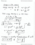 PHYS 102 Lecture Notes - Lecture 20: Root Mean Square, Energy Density