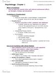 PS101 Lecture Notes - Lithium Carbonate, Behaviorism, Inverse Relation