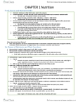 BPK 110 Study Guide - Midterm Guide: Overnutrition, Peanut Butter, Multivitamin