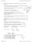 CHMB41H3 Study Guide - Midterm Guide: Chemotherapy, Cyclopentane, Cyclopentadiene