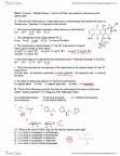 CHMB41H3 Study Guide - Midterm Guide: Trigonal Pyramidal Molecular Geometry, Newman Projection, Cyclopentadiene