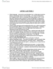 ANTB21H3 Lecture Notes - Jargon, Post-Structuralism, Arbitrariness