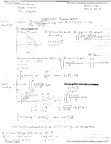 Mathematics 21a Lecture Notes - Junkers F.13