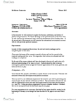 POLSCI 1G06 Study Guide - Samuel P. Huntington, The Instructor, Academic Dishonesty
