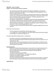 SOSC 2652 Lecture Notes - Lecture 3: Indictable Offence, Hybrid Offence, Summary Offence
