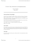 CS138 Study Guide - Unix Shell, Abstract Data Type, Entry Point