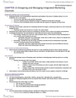 MKT 702 Study Guide - Value Network, Multichannel Marketing, Marketing Channel