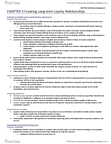 MKT 702 Study Guide - Customer Relationship Management, Personalized Marketing, Permission Marketing