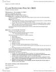 POLSCI 3B03 Lecture Notes - Securitization, Scandium, Orbital Inclination