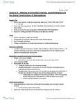 ANT100Y1 Lecture Notes - Lecture 4: Biomedicine, Social Constructionism, Discourse Analysis