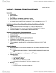 ANT100Y1 Lecture Notes - Lecture 5: Judith Butler, Biopolitics, Social Constructionism