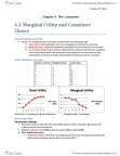 ECO100Y5 Chapter Notes - Chapter 6: Marginal Utility, Indifference Curve, Opportunity Cost