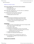 ENVS 1200 Lecture Notes - Lecture 6: Stormwater, Water Cycle