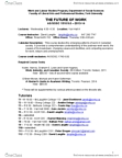 SOSC 1510 Lecture Notes - Bethune College, Karen Hughes, Academic Dishonesty