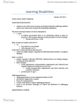 PSYC 3710 Lecture Notes - Autism Spectrum, Applied Behavior Analysis, Asperger Syndrome
