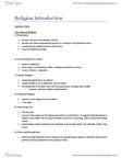 RLGA01H3 Study Guide - Nonviolence