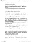ANT101H5 Lecture Notes - Carl Linnaeus, Uniformitarianism