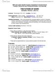 SOSC 1510 Lecture Notes - Karen Hughes, Bethune College, Academic Dishonesty
