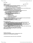 ZOO 2090 Lecture Notes - Lecture 7: Rete Mirabile, Neutral Buoyancy, Swim Bladder