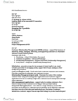 COMM 190 Study Guide - Final Guide: Customer Relationship Management, Bring Your Own Device, Local Area Network