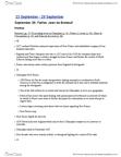 HIST 2500 Lecture Notes - Social Reproduction, Sauna, Wampum