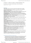 ECON 2100 Chapter Notes - Chapter 2: Natural Capital