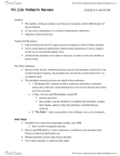 PO225 Study Guide - Midterm Guide: Preemptive War, Competitive Service, Regulatory Agency