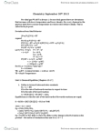 CHM242H5 Lecture Notes - Exothermic Process, Endothermic Process, Equilibrium Constant