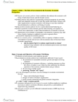 POLS 3470 Chapter Notes - Chapter 2: Consumer Protection, Human Capital, Externality
