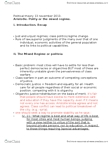 POL200Y1 Lecture Notes - Spritsail, Abundant Number, Oligarchy