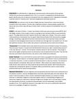 SOSC 1350: Gender and the Law Midterm Exam Review