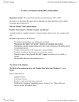 POL101Y1 Lecture Notes - Lecture 2: Limited Government, Territorial Authorities Of New Zealand