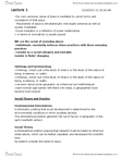WSTA01H3 Lecture Notes - Feminist Geography, Social Geography, Place Identity