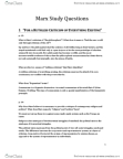 SOCB42H3 Study Guide - Bruno Bauer, Jewish Question, Abstract Labour And Concrete Labour