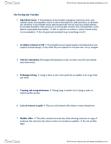 48-260 Study Guide - Psychopathy Checklist, Superficial Charm, Pathological Lying